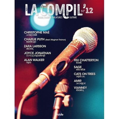 AEDE MUSIC LA COMPIL N° 12 - PVG ET TAB