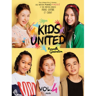 AEDE MUSIC KIDS UNITED VOL.4 - PVG