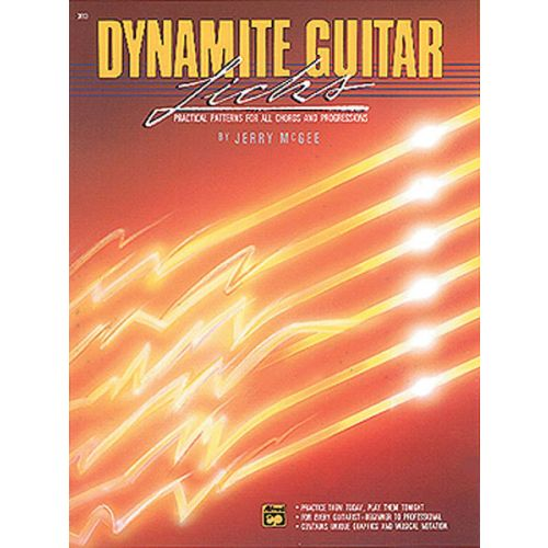 ALFRED PUBLISHING DYNAMITE GUITAR LICKS - GUITAR