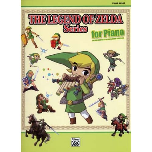 ALFRED PUBLISHING THE LEGEND OF ZELDA SERIES FOR PIANO