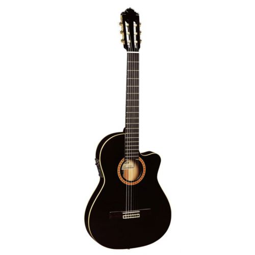 ALMANSA 435 CUTAWAY THIN BODY BLACK