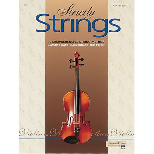 ALFRED PUBLISHING STRICTLY STRINGS BOOK 2 - VIOLIN