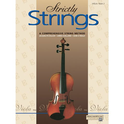 ALFRED PUBLISHING STRICTLY STRINGS BOOK 2 - VIOLA