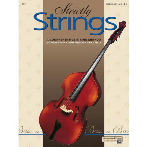 ALFRED PUBLISHING STRICTLY STRINGS BOOK 2 - BASS