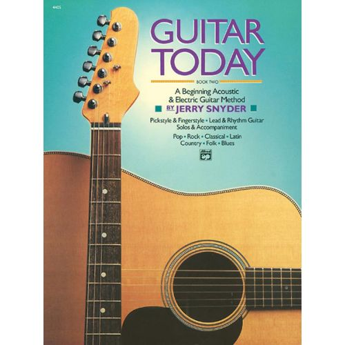 ALFRED PUBLISHING SNYDER JERRY - GUITAR TODAY BOOK 2 - GUITAR