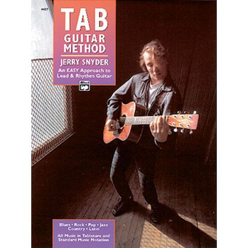 ALFRED PUBLISHING SNYDER JERRY - TAB GUITAR METHOD - GUITAR