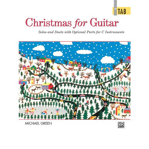 ALFRED PUBLISHING GREEN MICHAEL - CHRISTMAS FOR GUITAR - GUITAR TAB