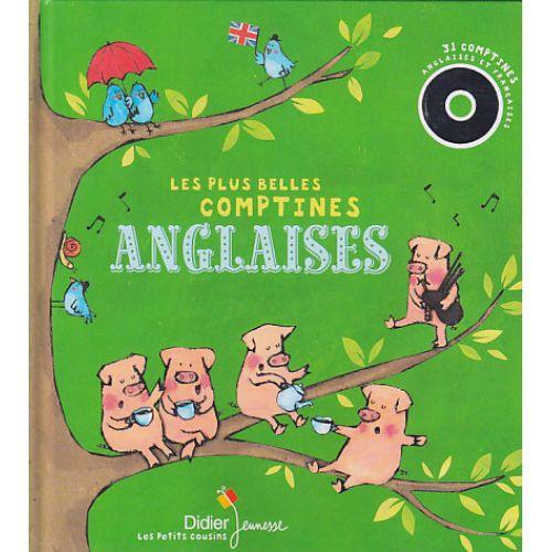 Didier Jeunesse Les Plus Belles Comptines Anglaises Livre Disque