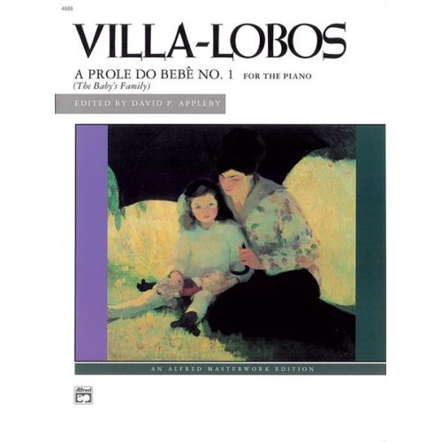 ALFRED PUBLISHING VILLA-LOBOS HEITOR - A PROLE DO BEBE NO1 - PIANO SOLO