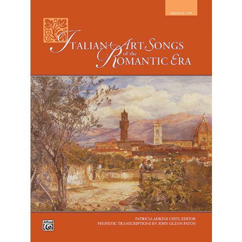 ALFRED PUBLISHING CHITI PATRICIA - ITALIAN ART SONGS - MEDIUM AND LOW VOICE