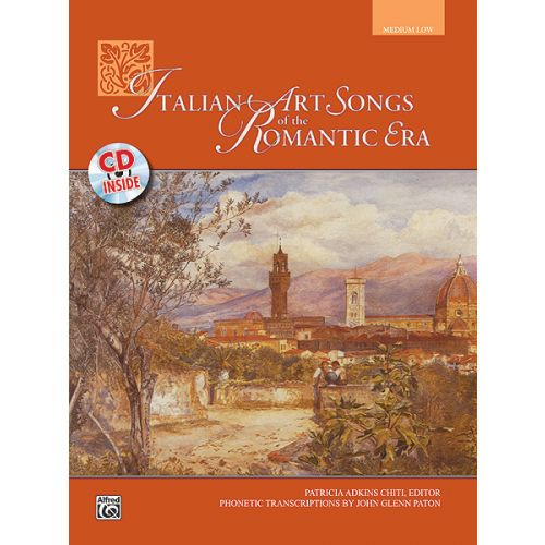 ALFRED PUBLISHING CHITI PATRICIA - ITALIAN ART SONGS + CD - MEDIUM AND LOW VOICE