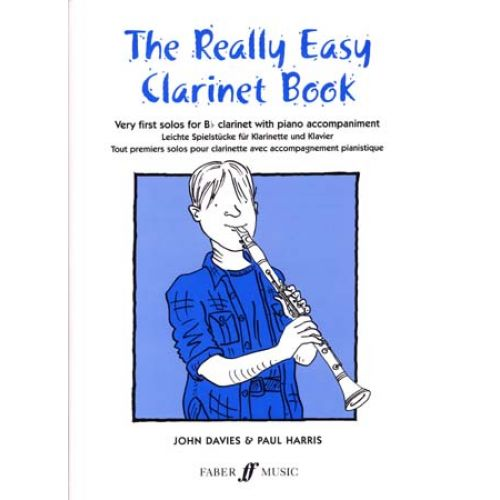 FABER MUSIC REALLY EASY CLARINET BOOK