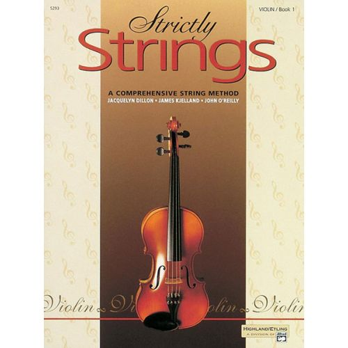 ALFRED PUBLISHING STRICTLY STRINGS BOOK 1 - VIOLIN