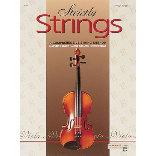 ALFRED PUBLISHING STRICTLY STRINGS BOOK 1 - VIOLA