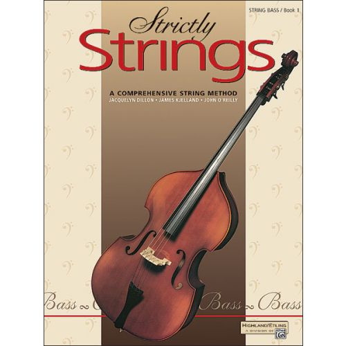 ALFRED PUBLISHING STRICTLY STRINGS BOOK 1 - BASS