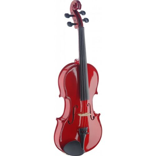 STAGG 4/4 VIOLIN VN4/4-TR RED + SOFTCASE