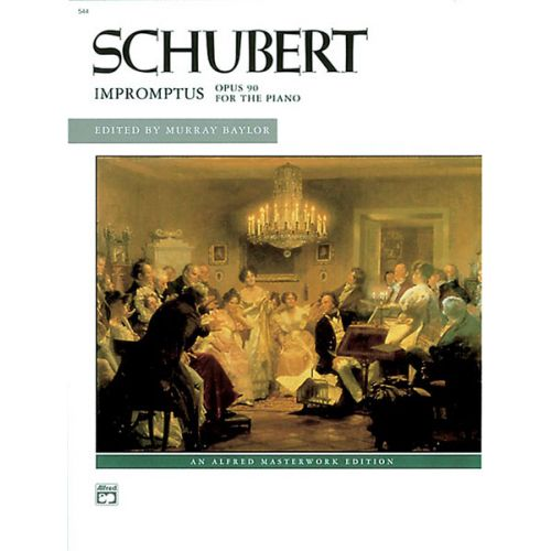 ALFRED PUBLISHING SCHUBERT FRANZ - IMPROMPTUS, OP90 - PIANO
