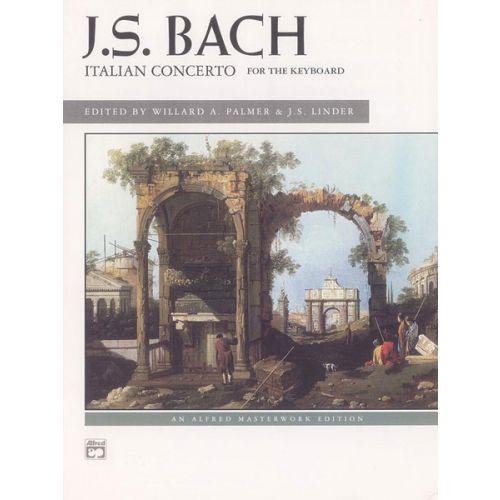 ALFRED PUBLISHING BACH JOHANN SEBASTIAN - ITALIAN CONCERTO - PIANO SOLO