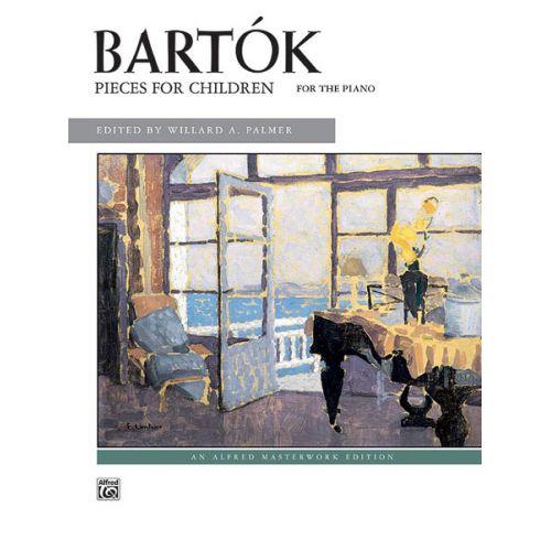 ALFRED PUBLISHING BARTOK BELA - PIECES FOR CHILDREN - PIANO SOLO