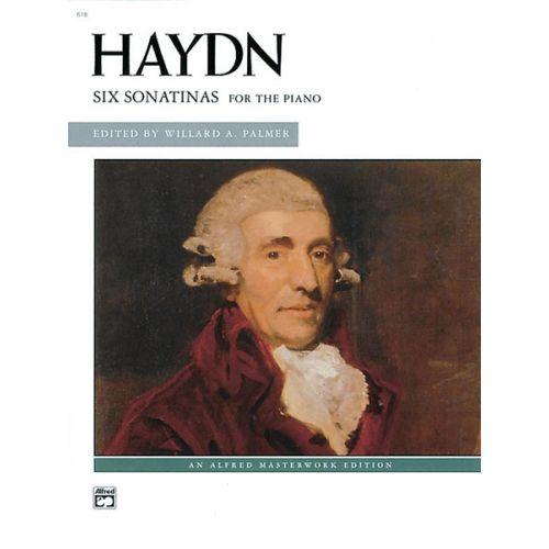 ALFRED PUBLISHING HAYDN FRANZ JOSEPH - 6 SONATINAS - PIANO SOLO