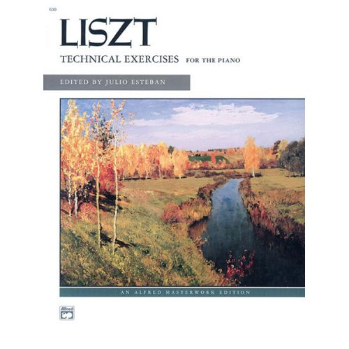 ALFRED PUBLISHING LISZT FRANZ - TECHNICAL EXERCISES - PIANO SOLO