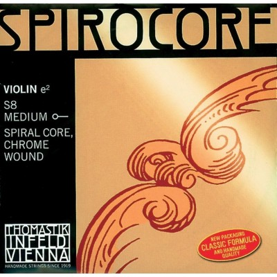 THOMASTIK STRINGS VIOLIN SPIROCORE SPIRAL CORE SET S519