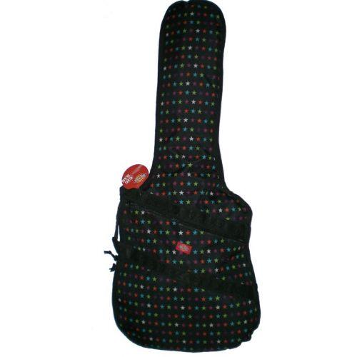DICKIES ELECTRIC GUITAR BAG - BLACK MULTI STAR