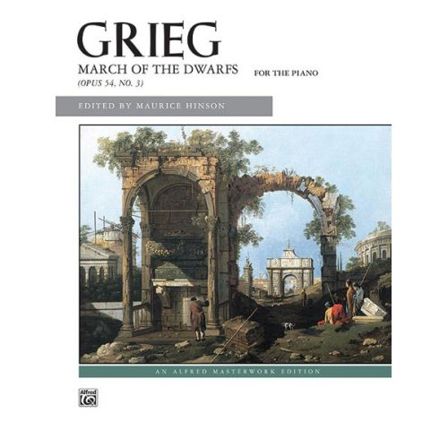 ALFRED PUBLISHING GRIEG EDVARD - MARCH OF THE DWARFS - PIANO SOLO