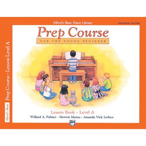 ALFRED PUBLISHING PALMER MANUS AND LETHCO - ALFRED PREP COURSE LESSON BOOK LEVEL A - PIANO