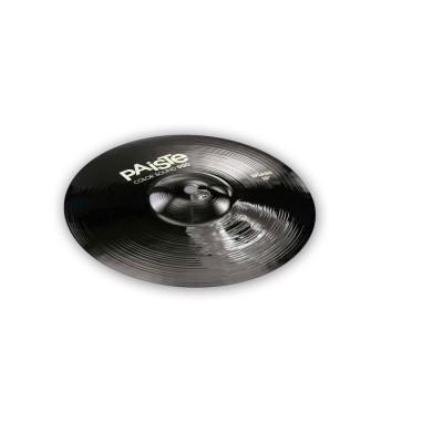 PAISTE CYMBALES SPLASH 900 SERIE COLOR SOUND BLACK 12