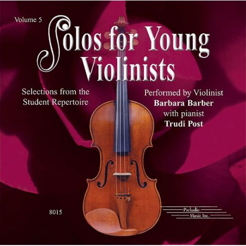 ALFRED PUBLISHING BARBER BARBARA - SOLOS FOR YOUNG VIOLINISTS 5 - VIOLIN AND PIANO