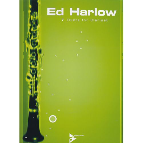 ADVANCE MUSIC HARLOW ED - 7 DUETS FOR CLARINET