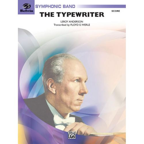 ALFRED PUBLISHING ANDERSON LEROY - TYPEWRITER - SYMPHONIC WIND BAND