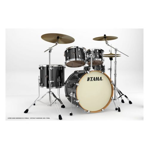TAMA VD52KRS-BCB - KIT SILVERSTAR 5 KESSEL OHNE HARDWARE - BRUSHED CHARCOAL BLACK