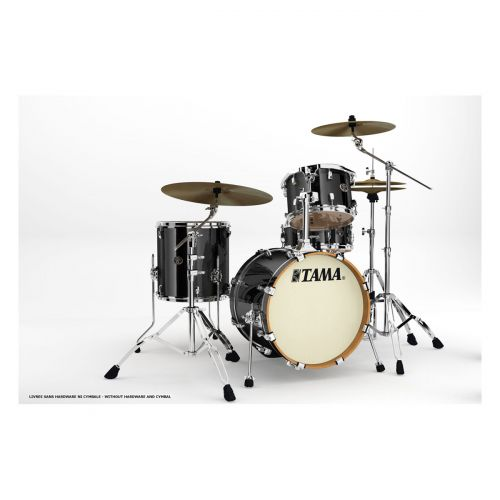 TAMA VD48S-BCB - SILVERSTAR JAZZETTE BE BOP 18 BRUSHED CHARCOAL BLACK