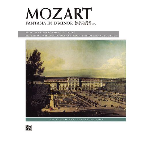 ALFRED PUBLISHING MOZART WOLFGANG AMADEUS - FANTASIA IN D MINOR - PIANO SOLO