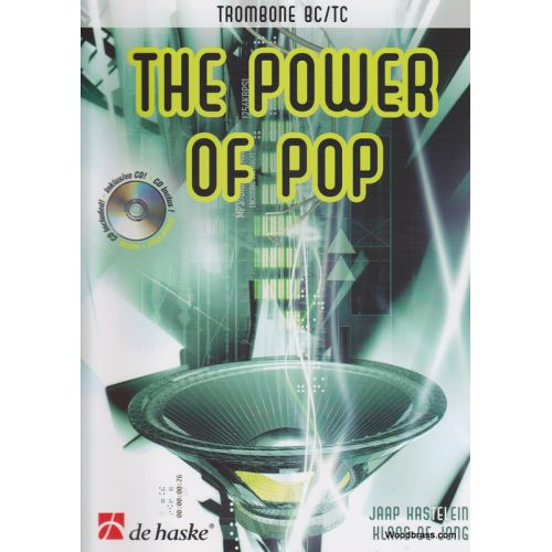 DEHASKE THE POWER OF POP + CD - TROMBONE
