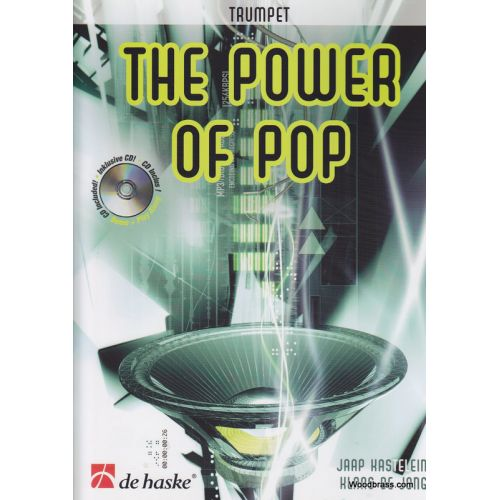 DEHASKE THE POWER OF POP + CD - TROMPETTE