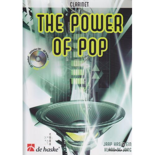 DEHASKE THE POWER OF POP + CD - CLARINETTE