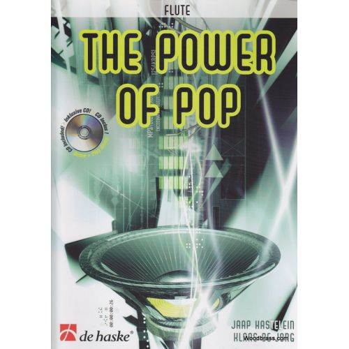 DEHASKE THE POWER OF POP + CD - FLUTE