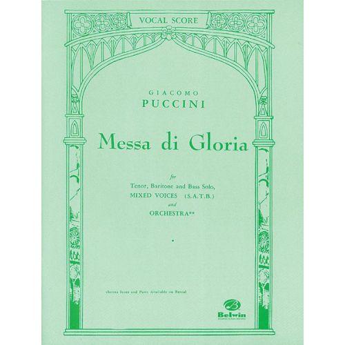 ALFRED PUBLISHING PUCCINI GIACOMO - MESSA DI GLORIA - MIXED VOICES