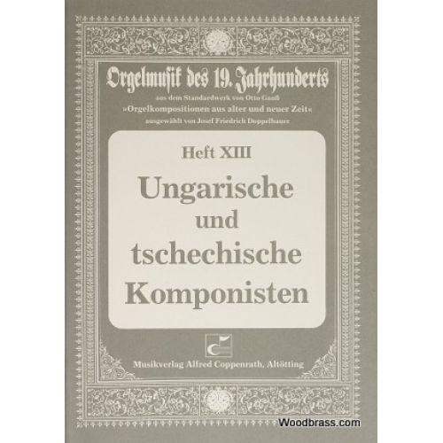 CARUS UNGARISCHE UND TSCHECHISCHE KOMPONISTEN - ORGAN