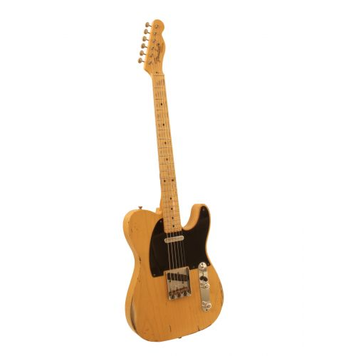 FENDER 1952 TELECASTER HEAVY RELIC BUTTERSCOTCH BLONDE