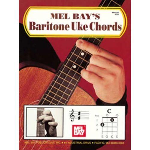 MEL BAY BAY MEL - BARITONE UKE CHORDS - UKULELE