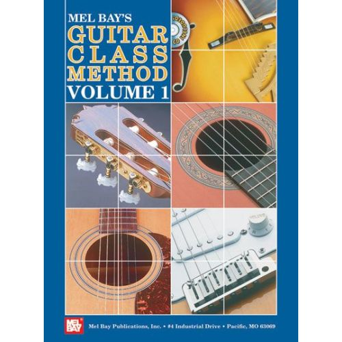 MEL BAY BAY WILLIAM - GUITAR CLASSIC METHOD VOLUME 1 + CD - GUITAR