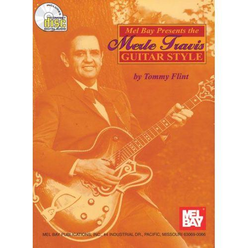 MEL BAY TRAVIS MERLE - GUITAR STYLE + CD - GUITAR