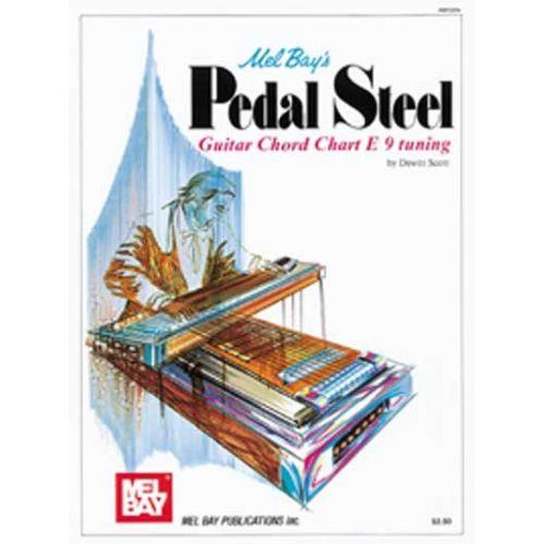 MEL BAY SCOTT DEWITT - PEDAL STEEL GUITAR CHORD CHART - GUITAR