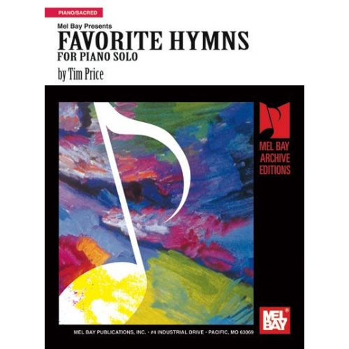 MEL BAY PRICE TIM - FAVORITE HYMNS FOR PIANO SOLO - KEYBOARD