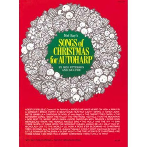 MEL BAY PETERSON MEG - SONGS OF CHRISTMAS FOR AUTOHARP - HARP
