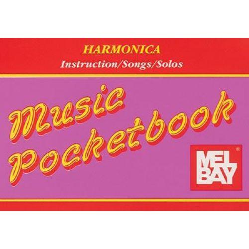MEL BAY HARMONICA POCKETBOOK - HARMONICA